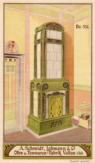 Aus der Musterbuchsammlung des Ofen- und Keramikmuseums Velten